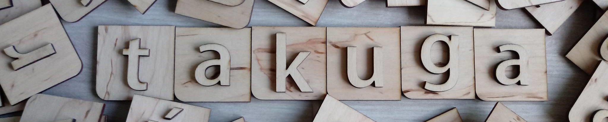 Takuga – Képességfejlesztő fa betűjáték